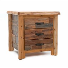 Laurel Hollow 3 Drawer Nightstand