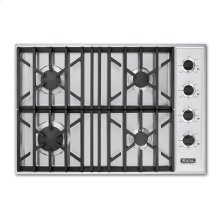 """Stainless Steel 30"""" Gas Cooktop - VGSU (30"""" wide, four burners)"""