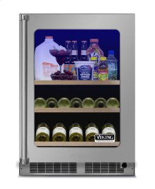 "24"" Beverage Center, Right Hinge/Left Handle"