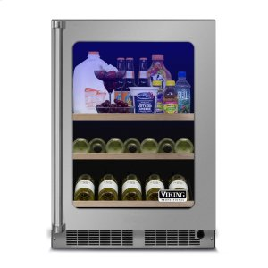 "Viking24"" Beverage Center, Right Hinge/Left Handle"