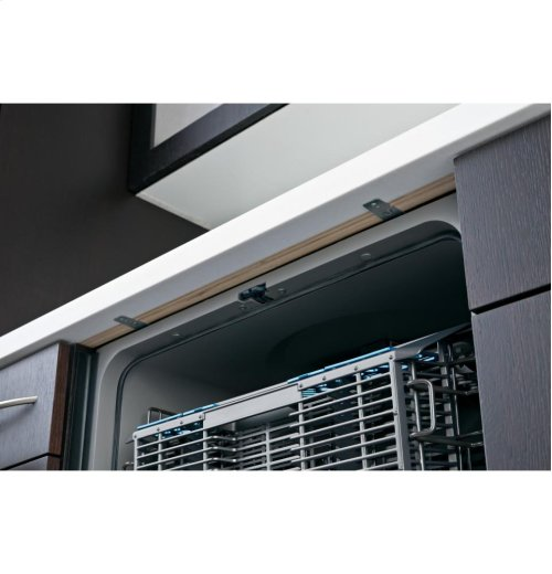 GE® Hybrid Stainless Steel Interior Dishwasher with Front Controls