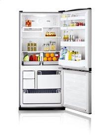 17.9 cu.ft. bottom freezer - smooth white
