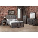 Queen Bed With Low Footboard 64-1/4W x 58H x 87D Product Image