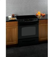 "**MODEL CLOSEOUT** GE® 30"" Slide-In Electric Range with Self-Cleaning Oven"