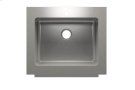 """Classic+ 000120 - farmhouse stainless steel Kitchen sink , 24"""" × 18"""" × 10"""" Product Image"""