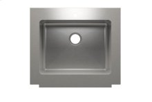 "Classic+ 000120 - farmhouse stainless steel Kitchen sink , 24"" × 18"" × 10"""