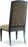 Sanctuary Mirage Side Chair-Ebony