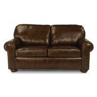 Preston Leather Full Sleeper with Nailhead Trim Product Image