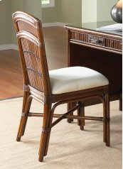 Tahiti Rattan & Bamboo Desk Chair