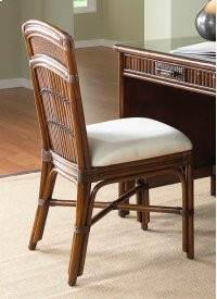 Tahiti Rattan & Bamboo Desk Chair Product Image