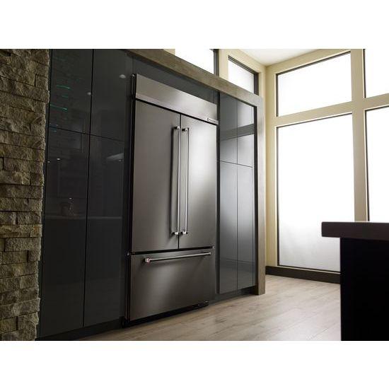 Kitchenaid 43 24 2 Cu Ft Built In French Door: KBFN502ESS Kitchenaid