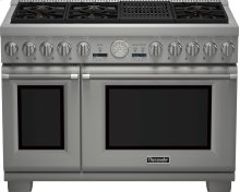 48-Inch Pro Grand Commercial Depth All Gas Range PRG486NLG