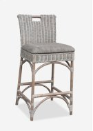 Natural Rattan CounterStool - grey wash Product Image
