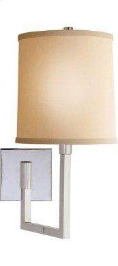 Visual Comfort BBL2028PN-L Barbara Barry Aspect 11 inch 75 watt Polished Nickel Swing-Arm Wall Light