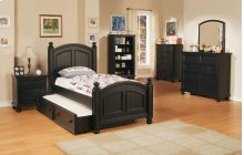 Panel Twin Bed $459 and Trundle Box Add $339