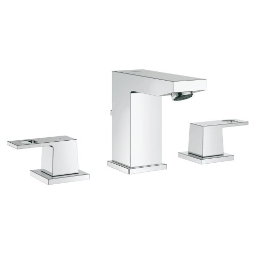 """Eurocube 8"""" Widespread Two-Handle Bathroom Faucet S-Size"""