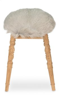 Winoma Stool, Light Grey