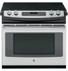 "GE® 30"" Drop-In Electric Convection Range"