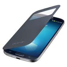 Galaxy S 4 S-View Flip Cover, Black