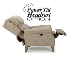 HIGH LEG RECLINER WITH POWER ADJUSTABLE HEADREST