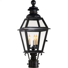 Visual Comfort CHO7110BZ E. F. Chapman Chelsea 3 Light 24 inch Bronze Outdoor Post Lantern