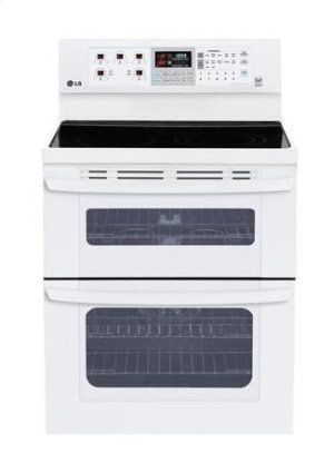 6.1 cu. ft. Capacity Electric Double Oven Range with SuperBoil Burner and EasyClean® Product Image