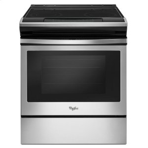 4.8 cu. ft. Guided Electric Front Control Range With The Easy-Wipe Ceramic Glass Cooktop -