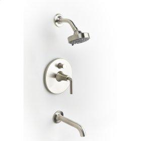 Tub and Shower Trim River (series 17) Satin Nickel