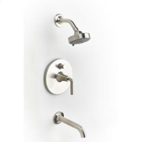 Tub and Shower Trim Taos (series 17) Satin Nickel