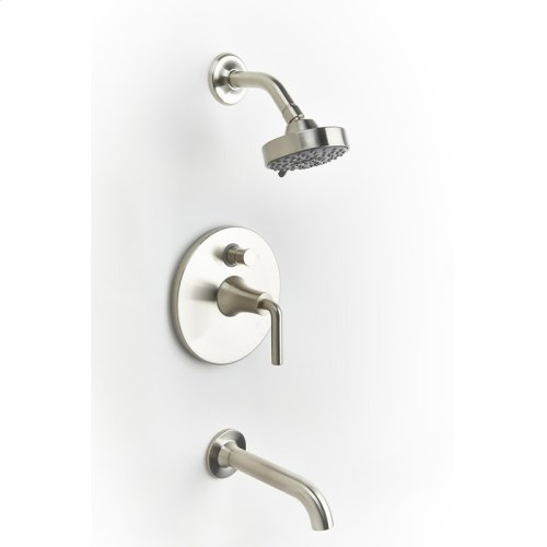 Tub and Shower Trim Taos Series 17 Satin Nickel