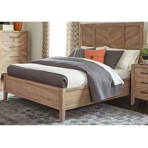CoasterE King Bed