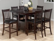 Tessa Counter Height Table With 4 Stools