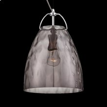 1-LIGHT LARGE PENDANT - Chrome