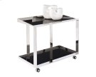 Maddox Bar Cart - Stainless Steel Product Image
