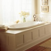 Heritage 72x36 inch Bathtub  American Standard - White