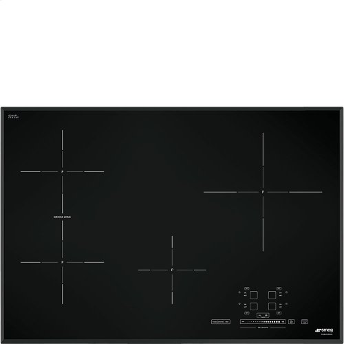 """78,2 CM (approx. 31""""), Induction cooktop, black, ultra-low profile"""
