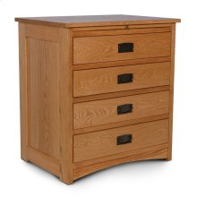 Prairie Mission Deluxe Nightstand with Drawers