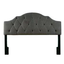 4/6-5/0 Full/Qn Uph HB Charcoal Fabric