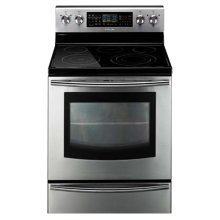 5.9 cu. ft. Freestanding Flex Duo Oven with Radiant Electric Range (Stainless Steel)