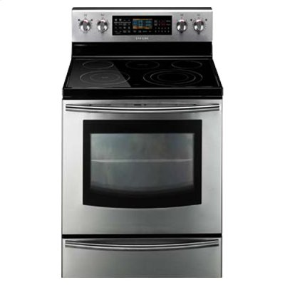 5.9 cu. ft. Freestanding Flex Duo Oven with Radiant Electric Range (Stainless Steel) Product Image