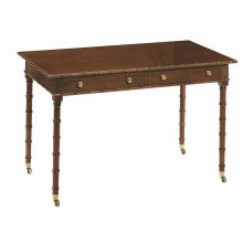 Regency Bamboo Writing Table