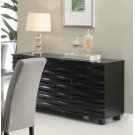 Stanton Contemporary Black Server Product Image