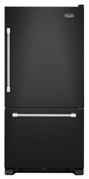"""30"""" Wide Bottom Mount Refrigerator with LED Lighting - 19 cu. ft. Product Image"""
