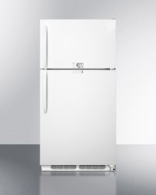 14.8 CU.FT. Refrigerator-freezer With Dual Combination Lock and Frost-free Operation