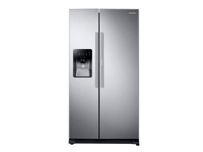 24.7 cu. ft. Side-by-Side Food ShowCase Refrigerator with Metal Cooling Product Image