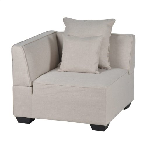 S/3 Sectional/Corner &2Pillows