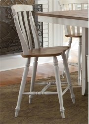 Slat Back Counter Chair Product Image