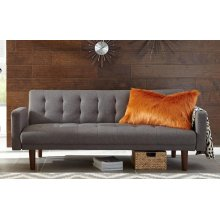 Skylar Transitional Grey Sofa Bed