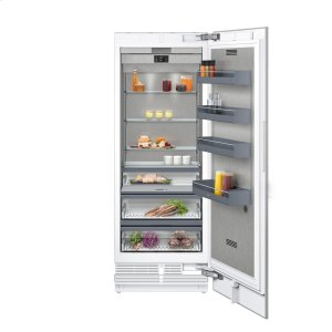 "Gaggenau400 series 400 series refrigeration column With fresh cooling 32 (degree)F Fully integrated Niche width 30"" (76.2 cm)"