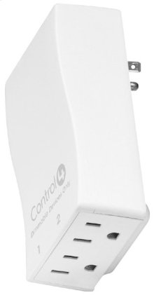 Control4® Wireless Outlet Dimmer